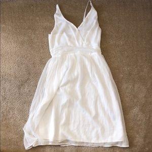 Vero Moda White V-Neck Sundress XS